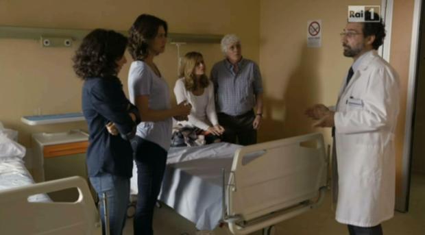 Rita e Valeria in ospedale