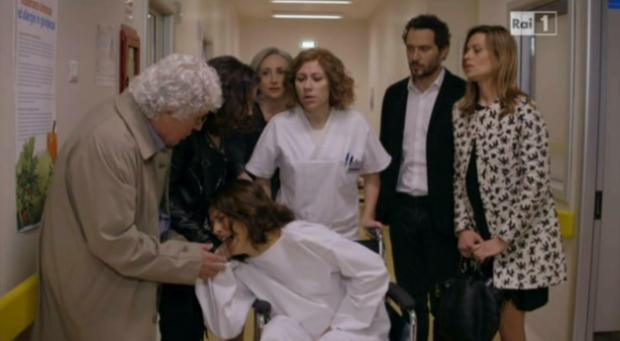 Valeria in ospedale