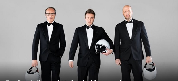 Top Gear Italia: Guido Meda, Joe Bastianich e Davide Valsecchi al timone dell'edizione italiana dell'adrenalinico reality