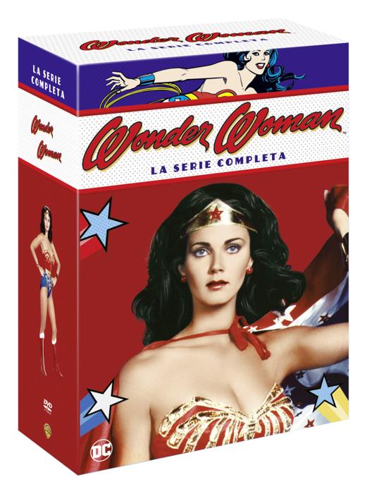 Wonder Woman, la serie storica finalmente in un imperdibile cofanetto dvd