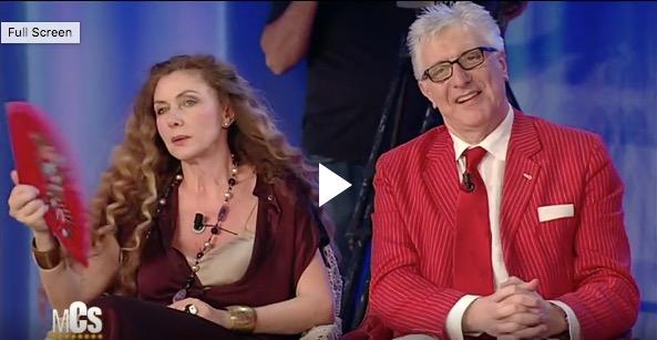 """Maurizio Costanzo show, Lemme dà della """"cicciona"""" a Tina e Eleonora Brigliadori lascia lo studio [Video]"""