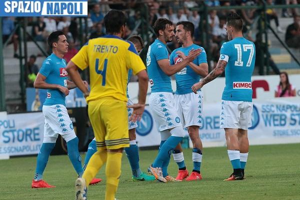 Napoli-Nizza per le Amichevoli nello sport in tv del 1° agosto
