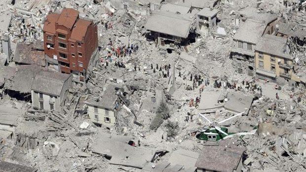 Terremoto, rai