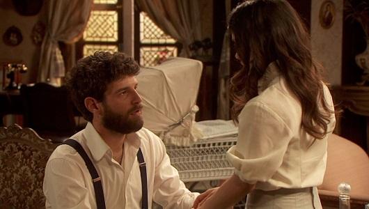Il Segreto, Bosco chiede a Ines di sposarlo (puntata del 12 settembre)