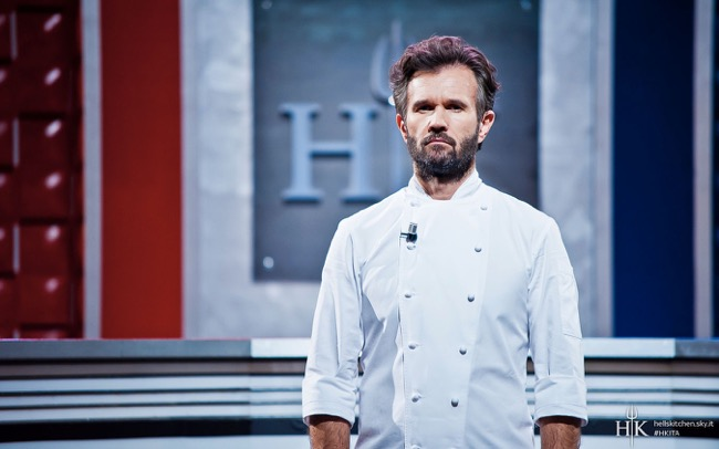 Hell's Kitchen 3: Cracco superstar su Sky Uno
