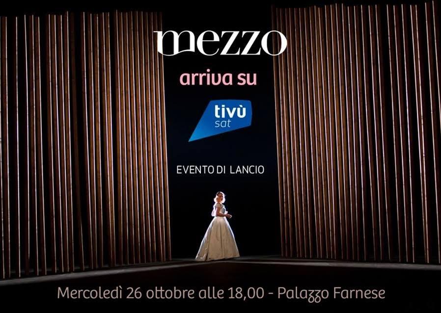 Mezzo, il nuovo canale di musica tra classica, jazz e dance in esclusiva su Tivùsat