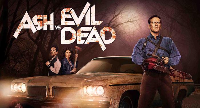 Ash vs evil dead, Starz rinnova la serie per la terza stagione