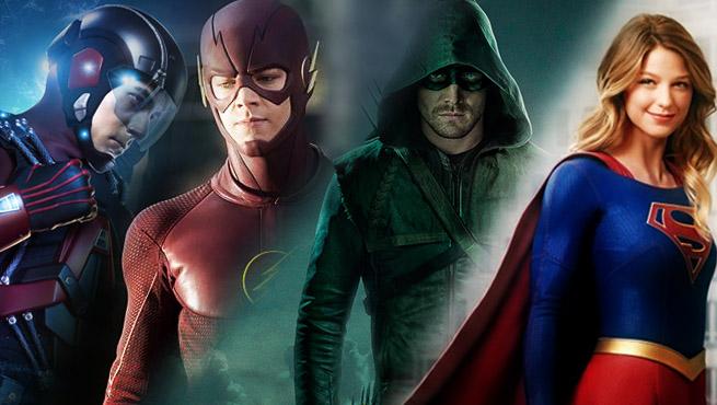 Arrow, Flash, Dc'S Legend of Tomorrow e Supergirl: mega crossover in arrivo