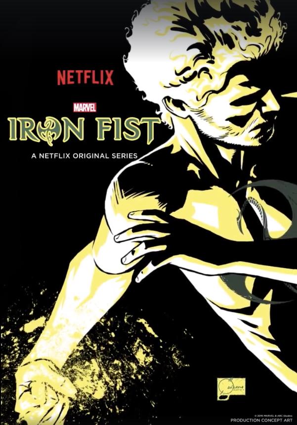 Iron Fist, mostrato il primo motion poster e il concept art della nuova serie Marvel/Netflix