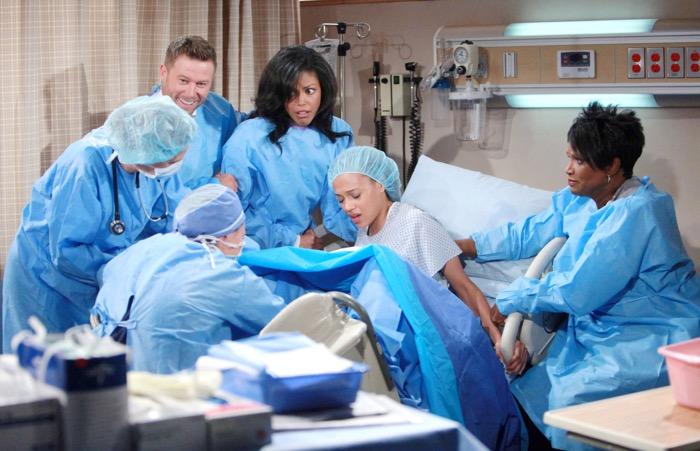 Beautiful, il parto di Nicole (puntata del 5 novembre)