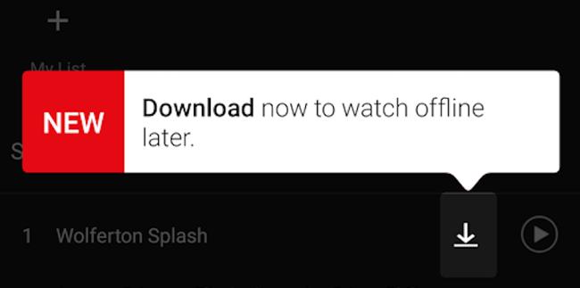 Netflix lancia la funzione download per i suoi contenuti [Video]
