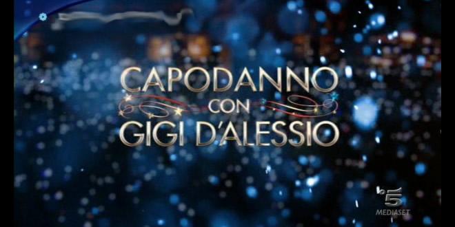 Capodanno con Gigi D'Alessio: in diretta dalle 21:00 su Canale 5