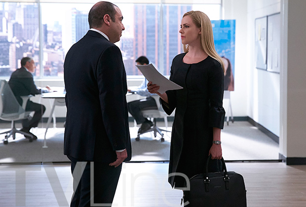 Suits 6 e il ritorno di Amanda Schull nel ruolo di Katrina