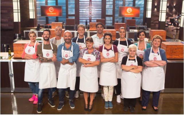 Celebrity Masterchef Italia 2017: svelato il cast dei vip ai fornelli