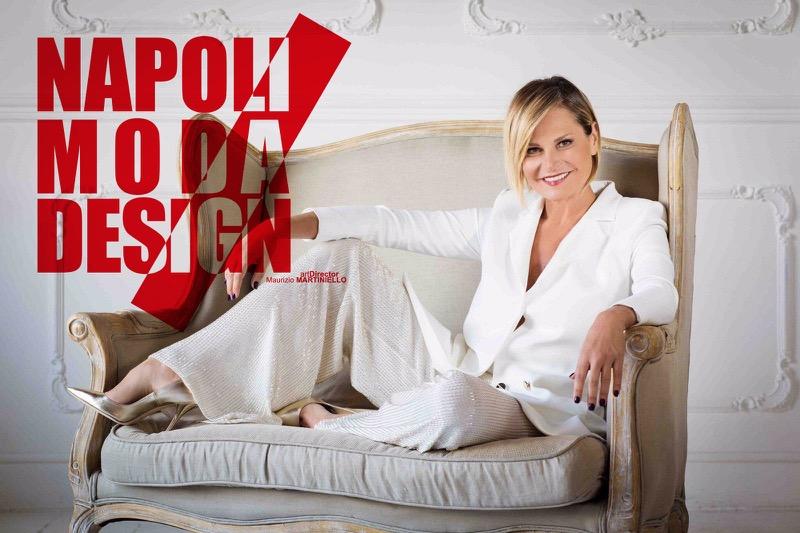 Simona Ventura madrina del Napoli Moda Design