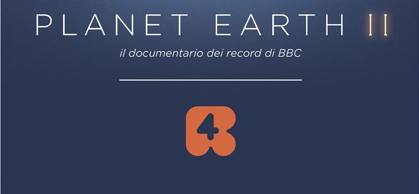 Planet Earth II, il documentario dei record sbarca su Rete 4