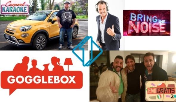 La primavera di Italia Uno: tornano Bring the noise, Gogglebox e Carpool Karaoke