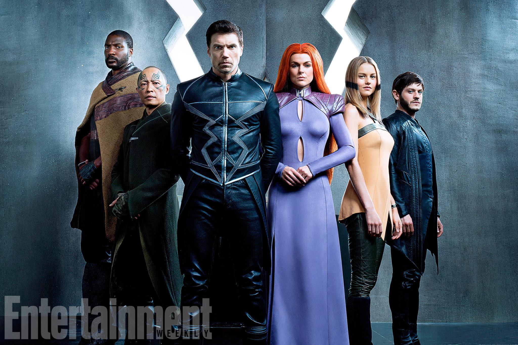 La prima foto del cast degli Inumani dalla serie tv