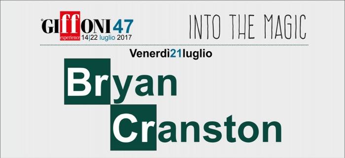 Giffoni 2017, ospite speciale Bryan Cranston