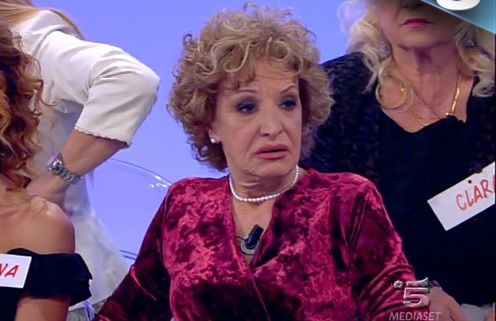 """Uomini e Donne trono over, Graziella Montanari:""""Gemma? Maleducata  e irrispettosa!"""""""