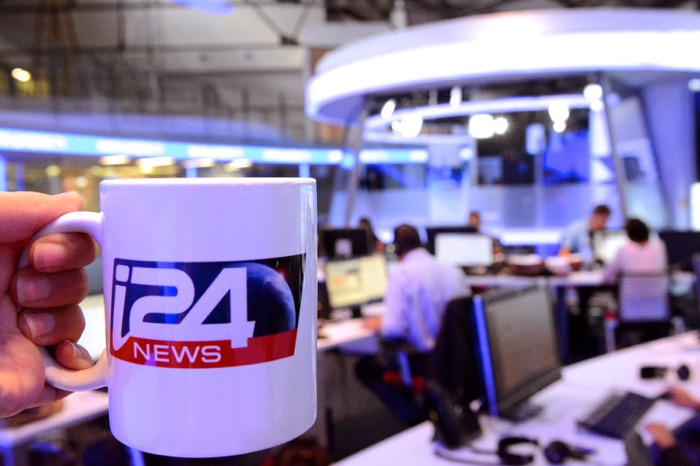 i24News, il canale all news in inglese e francese sbarca su Tivùsat