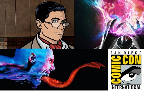 FX porta Legion, The Strain, e Archer al Comic-Con di San Diego