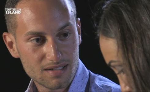 """Temptation Island, Ruben Invernizzi:""""Rispettate la mia scelta, rispettate Francesca"""""""