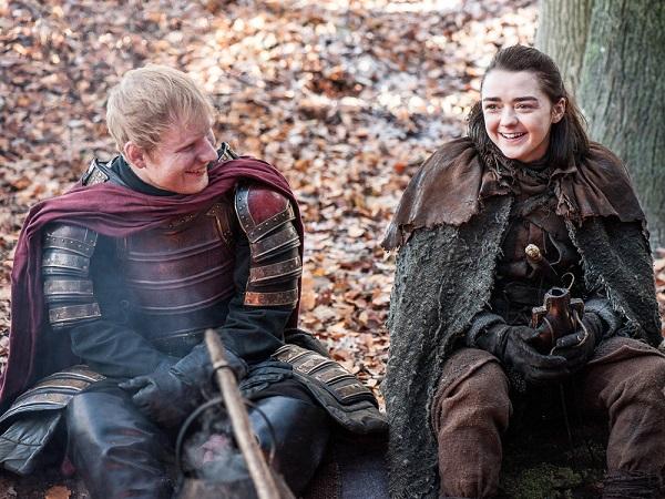 Ed Sheeran abbandona Twitter dopo il suo cameo in Game of Thrones