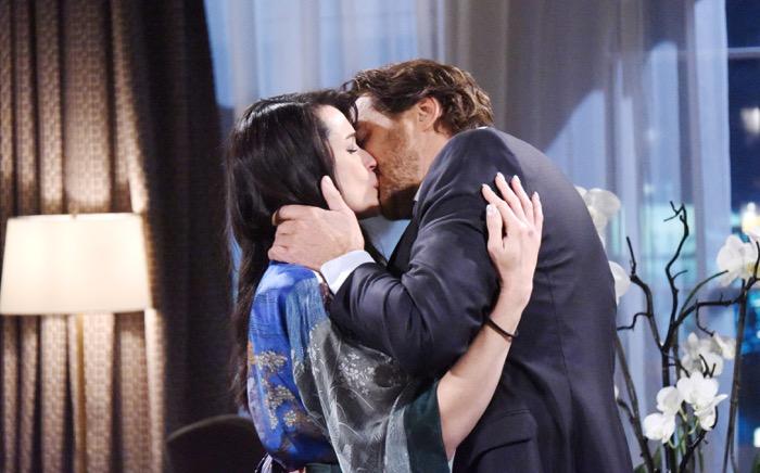 Beautiful, Ridge bacia Quinn (puntata del 30 agosto)