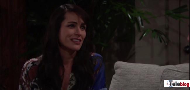 Beautiful, il lungo monologo di Quinn contro Ridge (puntata del 29 agosto)