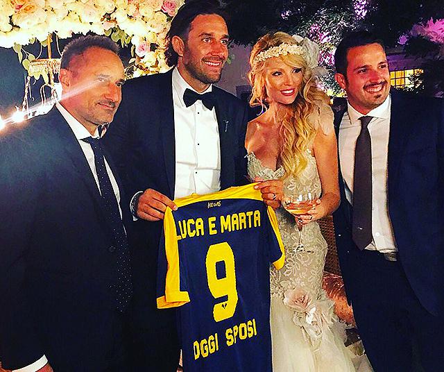 """Luca Toni ha sposato Marta Cecchetto"""""""