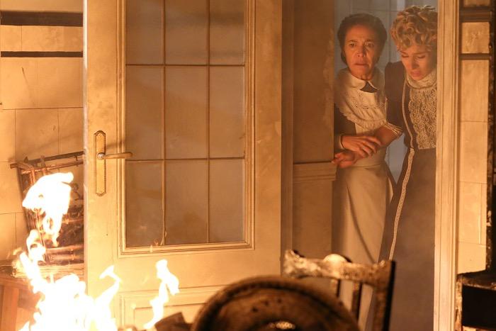 Una Vita, l'incendio (puntata del 7 settembre)
