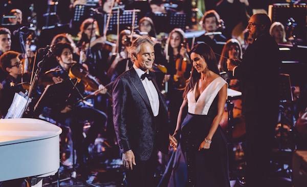Ascolti tv del 15 settembre: Bocelli show vince la serata, un pò scarso Il Segreto