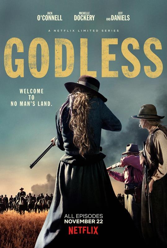 Godless, locandina e nuovo trailer della serie western di Netflix