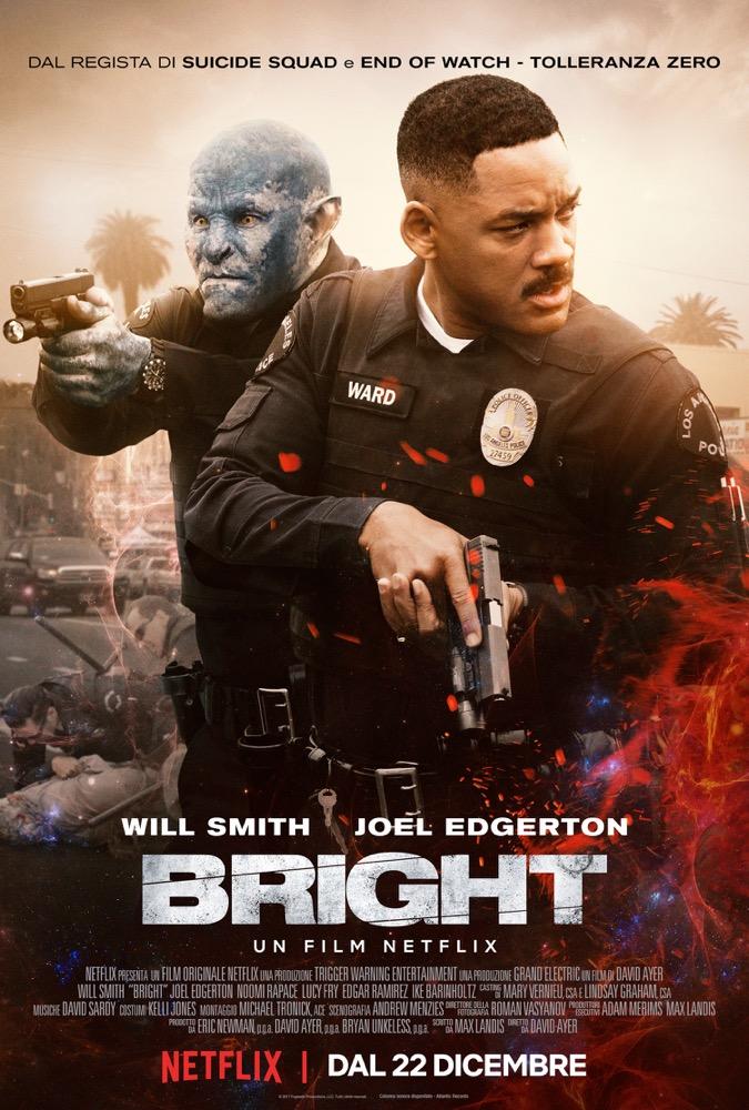 The Bright, sinossi e locandina del nuovo film originale Netflix