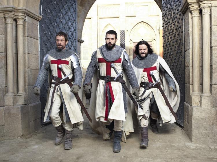 La nuova serie Knightfall e le altre novità di dicembre sui canali A&E Network