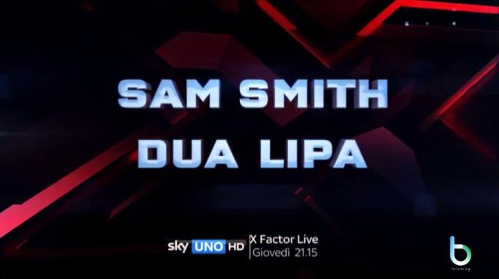 X Factor 11, il secondo live del 2 novembre: ospiti Sam Smith e Dua Lipa [Video]