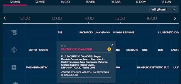 Beautiful, Canale 5 sostituisce la puntata con la replica di Sacrificio d'amore