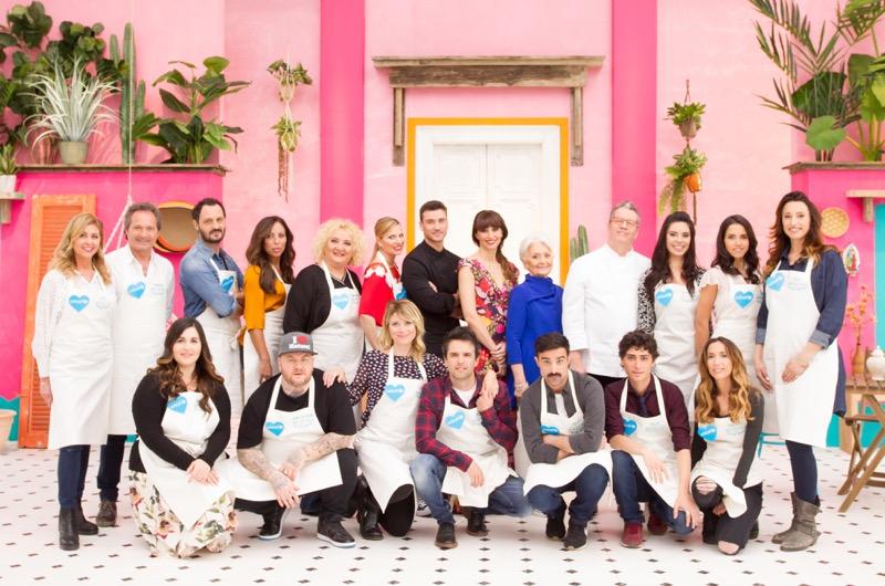 Bake Off Italia – Celebrity edition: due puntate speciali dell'edizione vip su Real time