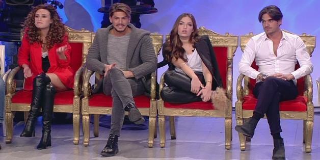 Uomini e donne, Gianluca esce con Sara e Nilufar (trono classico del 18 dicembre)zf