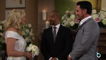 Bill e Brooke sposi