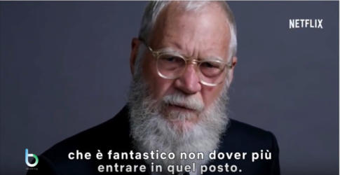 David Letterman torna in tv con Netflix copy