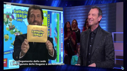 I soliti ignoti Lotteria Italia vince l'auditel