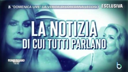 Loredana Lecci a Domenica Live copy