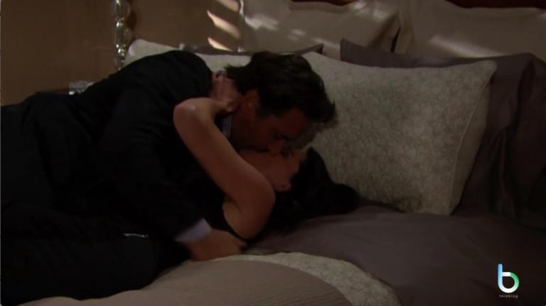 Beautiful, Ridge e Quinn di nuovo bacio (puntata 25 gennaio)