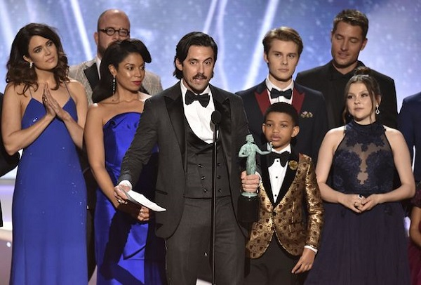 SAG Awards 2018: This Is Us, Big Little Lies, Veep, e The Crown tra i vincitori