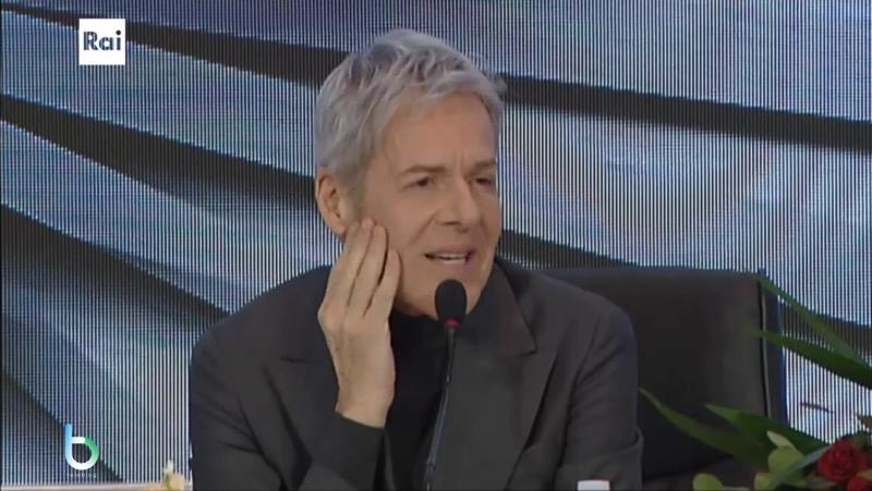 Claudio Baglioni conferenza stampa Sanremo copy