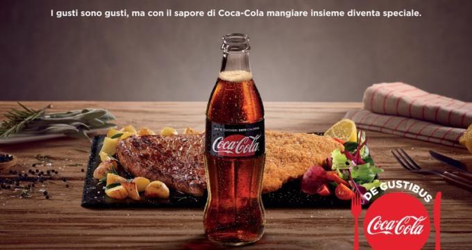 Coca Cola campagna De Gustibus