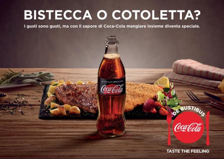 Coca-Cola, dal 4 febbraio i nuovi spot De Gustibus