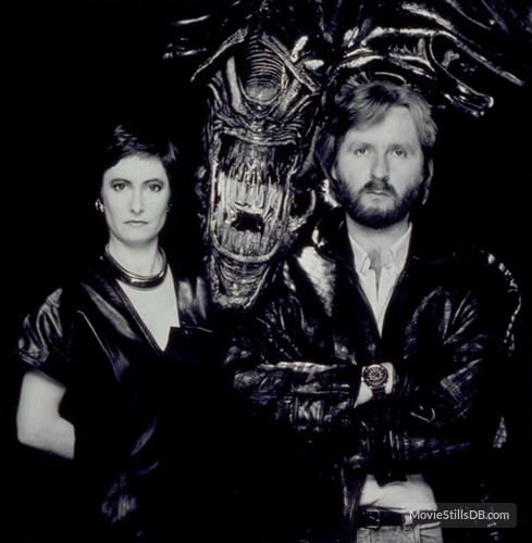 Gale Anne Hurd e James Cameron